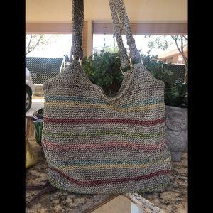 TheThe Sak woven purse